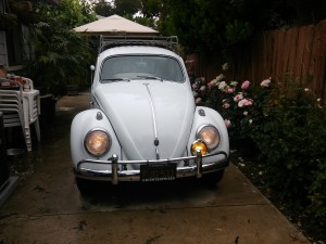 Ran wires, installed accessory gauges and lights for this cool Beetle.